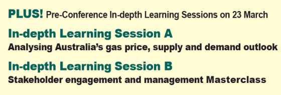 Analysing Australia's gas price, supply and demand outlook and Stakeholder engagement and management Masterclass