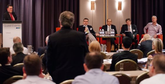 Keith Orchison Chairing Eastern Australia's Energy Markets Outlook conference in Sydney 2014