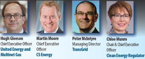 Speakers at Eastern Australia's Energy Markets Outlook conference in Sydney 2014