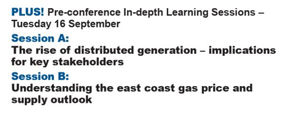 Energy Workshops on distributed generation and east coast gas supply