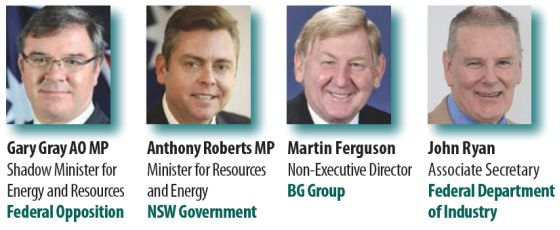 Ian Macfarlane Gary Gray Anthony Roberts Mark McArdle MPs Australian Domestic Gas Outlook 2015