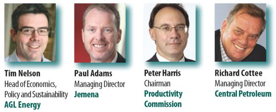 Martin Ferguson Tim Nelson Paul Adams Richard Cottee Australian Domestic Gas Outlook 2015 Conference