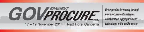 Government Procurement 2014 conference Canberra