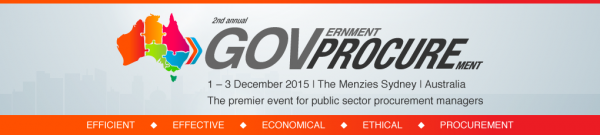 Government Procurement conference 2015 Sydney