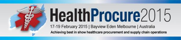 Healthcare Procurement 2015 conference Melbourne