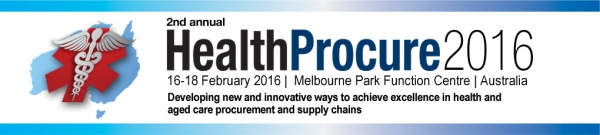 Healthcare Procurement 2016 conference Melbourne February