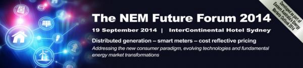 NEM Future Forum 2014 Sydney Conference