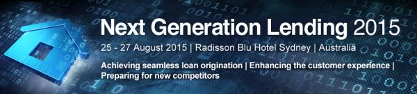 Next Generation Lending conference Sydney August