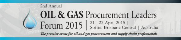Oil and Gas Procurement Leaders Forum 2015, Conference held in Brisbane, Australia